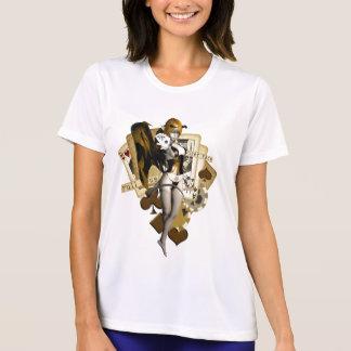 Golden Poker Girl 2 Shirt