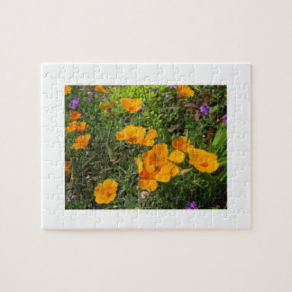 Golden Poppies & Wildflowers 110 Piece Puzzle