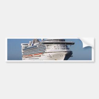 Golden Princess cruise ship Bumper Sticker