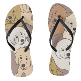 golden puppies thongs