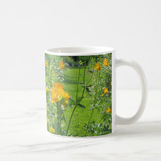 Golden Queen Trollius Secret Garden Coffee Mug