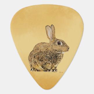 Golden Rabbit Guitar Pick
