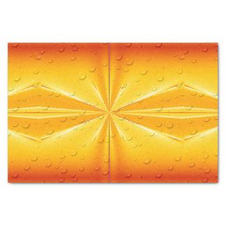 Golden Raindrops Tissue Paper