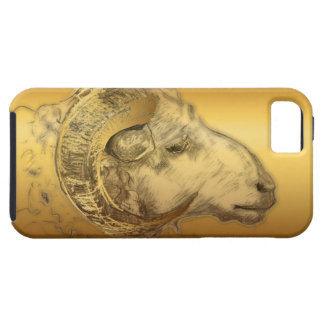 Golden Ram or Sheep Chinese New Year 2015 - iPhone 5 Case