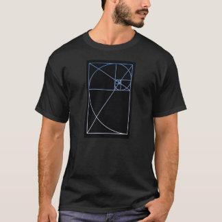 Golden Ratio Blue T-Shirt