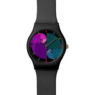 Golden Ratio, Fibonacci Spiral Wristwatch