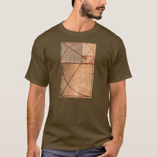 Golden Ratio Wood T-Shirt