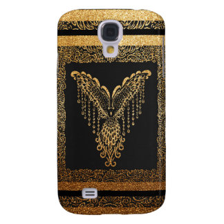Golden raven galaxy s4 case