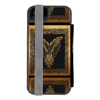 Golden raven incipio watson™ iPhone 5 wallet case