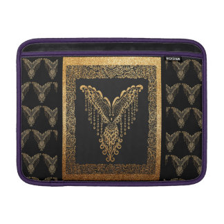 Golden raven sleeve for MacBook air