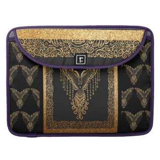 Golden raven sleeve for MacBook pro