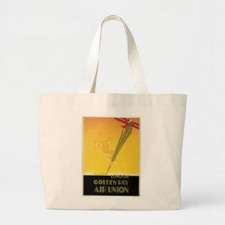 Golden Ray Air Union Jumbo Tote Bag