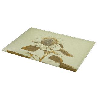 Golden Rayed Cutting Board