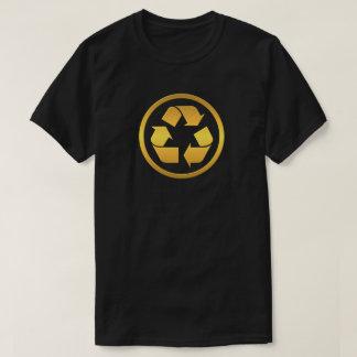 Golden recycling T-Shirt