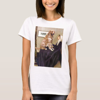 Golden Retriever 1 - Whistler's Mother T-Shirt