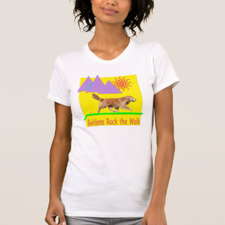 Golden Retriever Agility 'Rock' Women's Tee