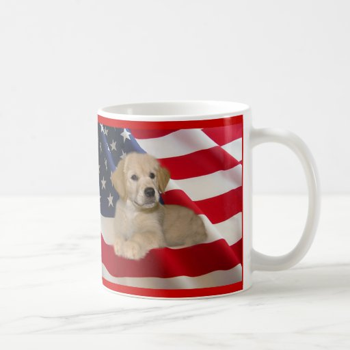 Golden Retriever All American Puppy Mug