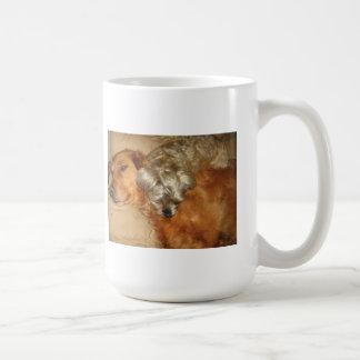 Golden Retriever and Maltipoo - Best Friends Coffee Mug