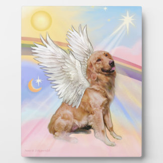 Golden Retriever Angel (B1) Plaque
