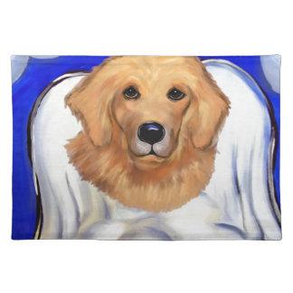 Golden Retriever Angel Placemat