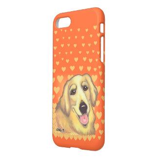Golden Retriever Art iPhone 7 Case