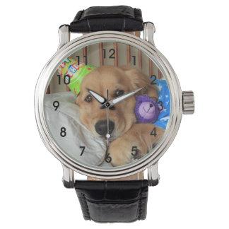 Golden Retriever Birthday Watches
