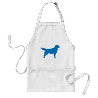 Golden Retriever (blue) Standard Apron