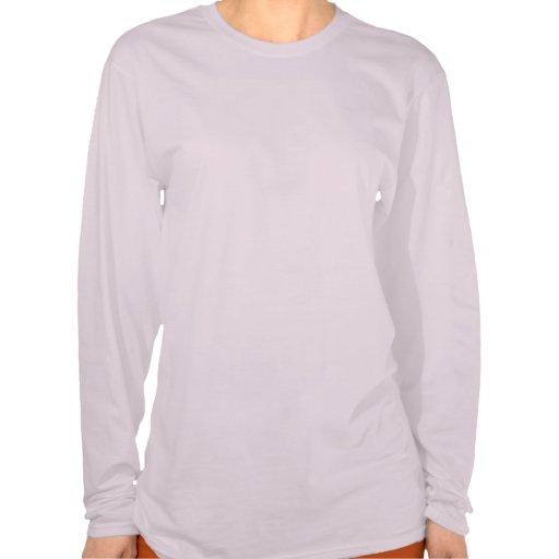 Golden Retriever Breast Cancer Ladies T-Shirt