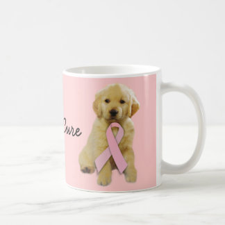 Golden Retriever Breast Cancer Mug