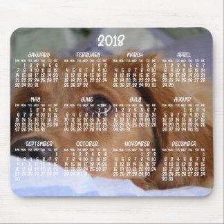 Golden Retriever Calendar 2018 Photo Mouse Pads