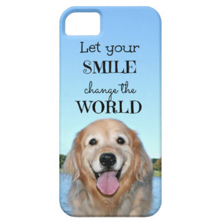 Golden Retriever Change the World iPhone 5 Cover
