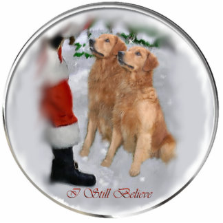 Golden Retriever Christmas Gifts Ornament Photo Sculpture Decoration