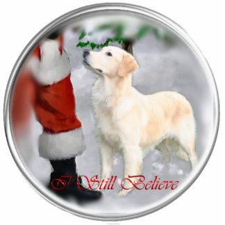 Golden Retriever Christmas Gifts Photo Sculpture Decoration