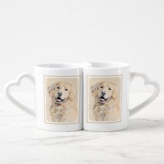Golden Retriever Coffee Mug Set