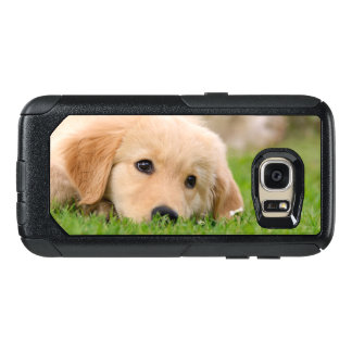 Golden Retriever Cute Puppy Dreaming Commuter-Case OtterBox Samsung Galaxy S7 Case