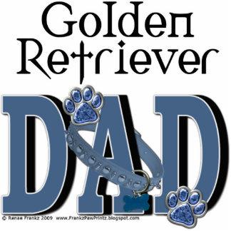 Golden Retriever DAD Standing Photo Sculpture
