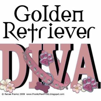 Golden Retriever DIVA Standing Photo Sculpture