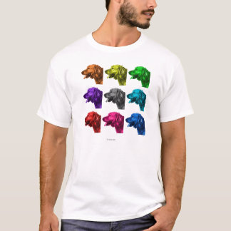 golden retriever dog art T-Shirt