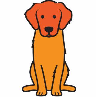 Golden Retriever Dog Cartoon Cut Outs