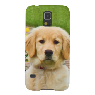 Golden Retriever Dog Case For Galaxy S5