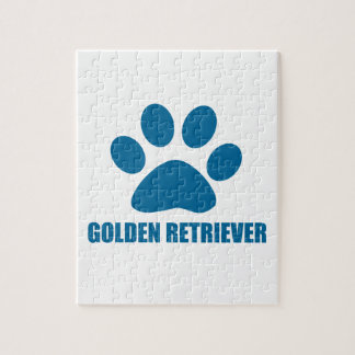 GOLDEN RETRIEVER DOG DESIGNS JIGSAW PUZZLE