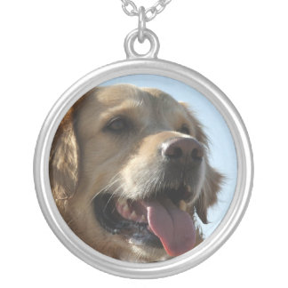 Golden Retriever Dog Necklace