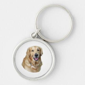 Golden Retriever dog photo Key Chains