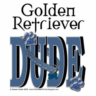Golden Retriever DUDE Standing Photo Sculpture