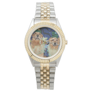 Golden Retriever Fairies Watch