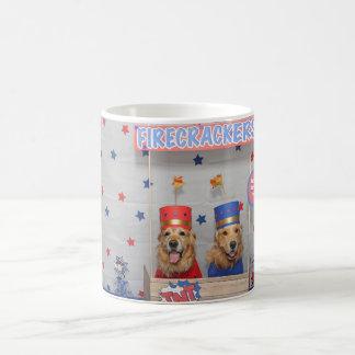 Golden Retriever Firecrackers For Sale Coffee Mug