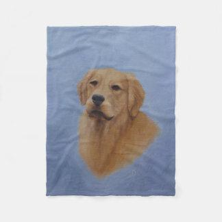 Golden Retriever Fleece Blanket
