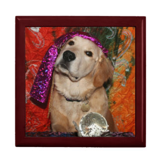 Golden Retriever Fortune Teller Gift Box