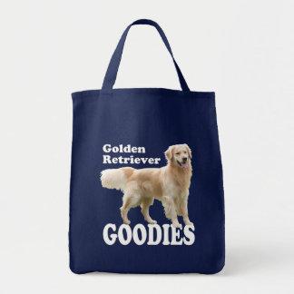 Golden Retriever Grocery Tote Bag