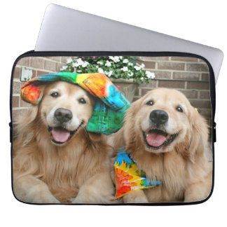 Golden Retriever Groovy Laptop Sleeve